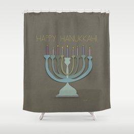 menorah. Shower Curtain
