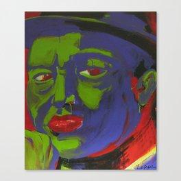 Blue Magoo Canvas Print