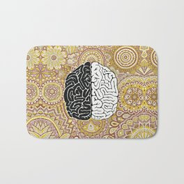 Big Brain ! Bath Mat
