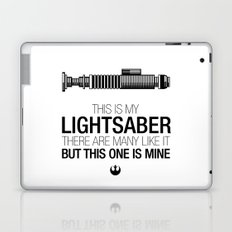 This is my Lightsaber (Luke Version) Laptop & iPad Skin