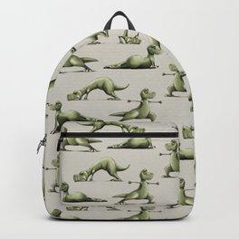 Yogasaurs (Sand) Backpack