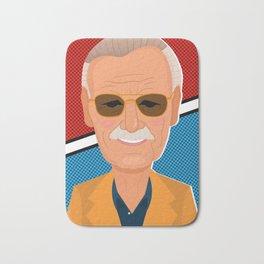 Stan Lee Bath Mat