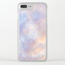 Pink sky / Photo of heavenly sky Clear iPhone Case