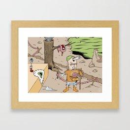 Softsteak Framed Art Print