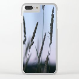 Summer Evenings Clear iPhone Case