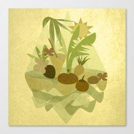 Tropical Vibes 1 Canvas Print