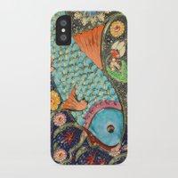 koi iPhone & iPod Cases featuring Koi by Joke Vermeer