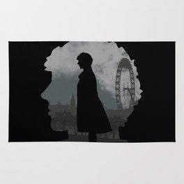 Sherlock Holmes world Rug