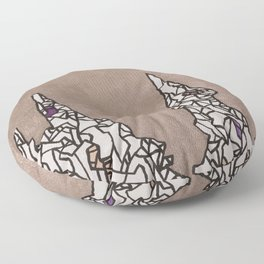 Crumble Towers Floor Pillow