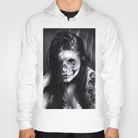 day of the dead Hoodies featuring Day Of The Dead by leonmorley