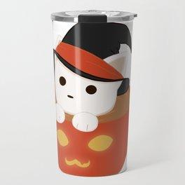 Halloween Catpuccino Travel Mug