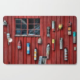 Red Wall Buoy Cutting Board