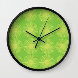 Retro Spectrum Green Wall Clock
