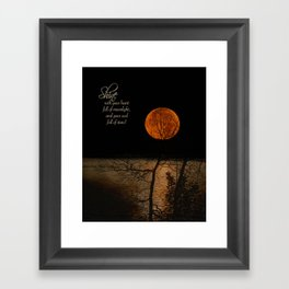 Shine! Framed Art Print