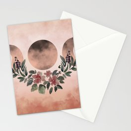 BOHEMIAN MOON PHASES Stationery Cards