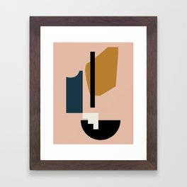 Shape study #2 - Lola Collection Framed Art Print