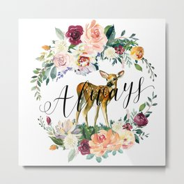 Always - Fawn Metal Print