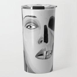 Face to Skull Travel Mug