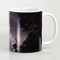 milky way Mugs featuring Milky Way by Holly O'Briant
