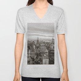 Infinite - New York City Unisex V-Neck