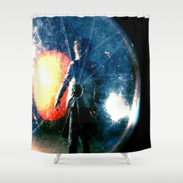 Wayne Coyne Embryo Shower Curtain