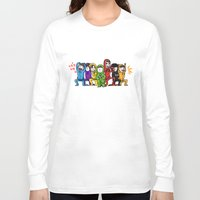 power rangers Long Sleeve T-shirts featuring infinite rangers by yum'