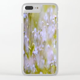 Forget-me-nots On a Windy Day #decor #society6 Clear iPhone Case
