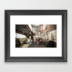 /warehouse Framed Art Print