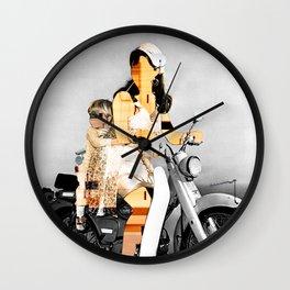 CardinalsRoller Collage Wall Clock