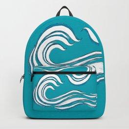 waves mother ocean Backpack