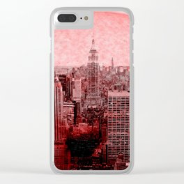 New New York Quarantine Clear iPhone Case