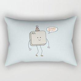 Always Be Alt Rectangular Pillow