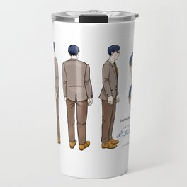 Natalie Close Character Design II Travel Mug