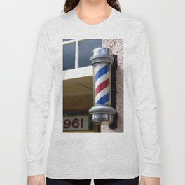 Barber Sign Long Sleeve T-shirt