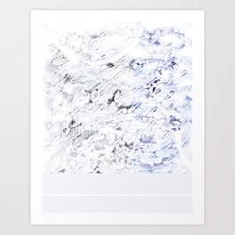 Let's Jump in Puddles Art Print