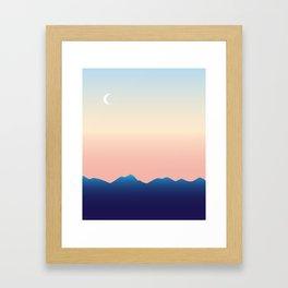Hometown Sunset Framed Art Print