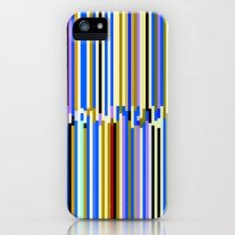 Pinstripe Mayhem iPhone Case