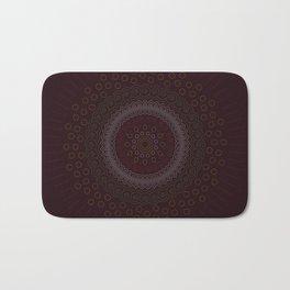 Abstract Zen Mandala Bath Mat
