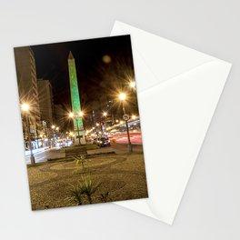 City lights at night Stationery Cards