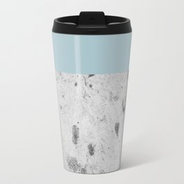 Color Block Concrete Travel Mug