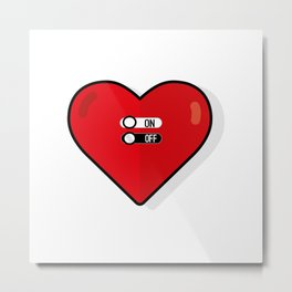 what about love? Metal Print