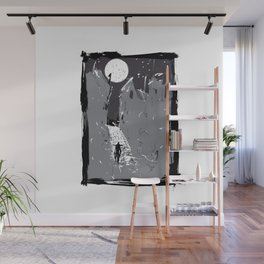 Moonlight Town (Dreamscapes) Wall Mural
