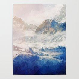 Mountain Winter Dream Poster
