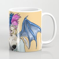 libra Mugs featuring Libra by CaptainSunshine