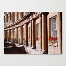 Royal Crescent, Bath Canvas Print