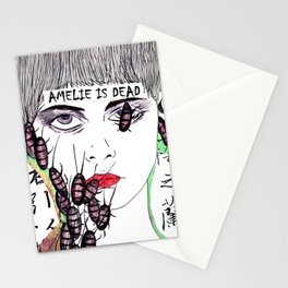 Amelie is dead Stationery Cards