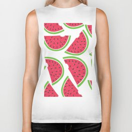 Watermelon Summer Biker Tank