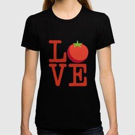 Tomato soup love T-shirt