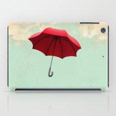 Red Umbrella iPad Case