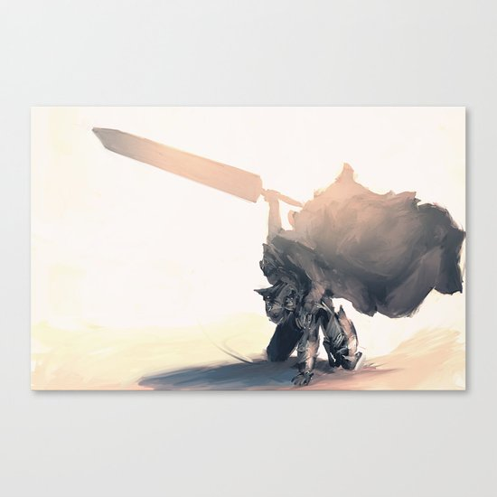 Berzerk Canvas Print